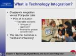 what is technology integration9
