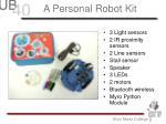 a personal robot kit