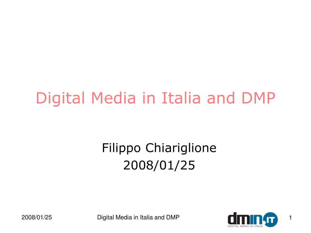 digital media in italia and dmp l.