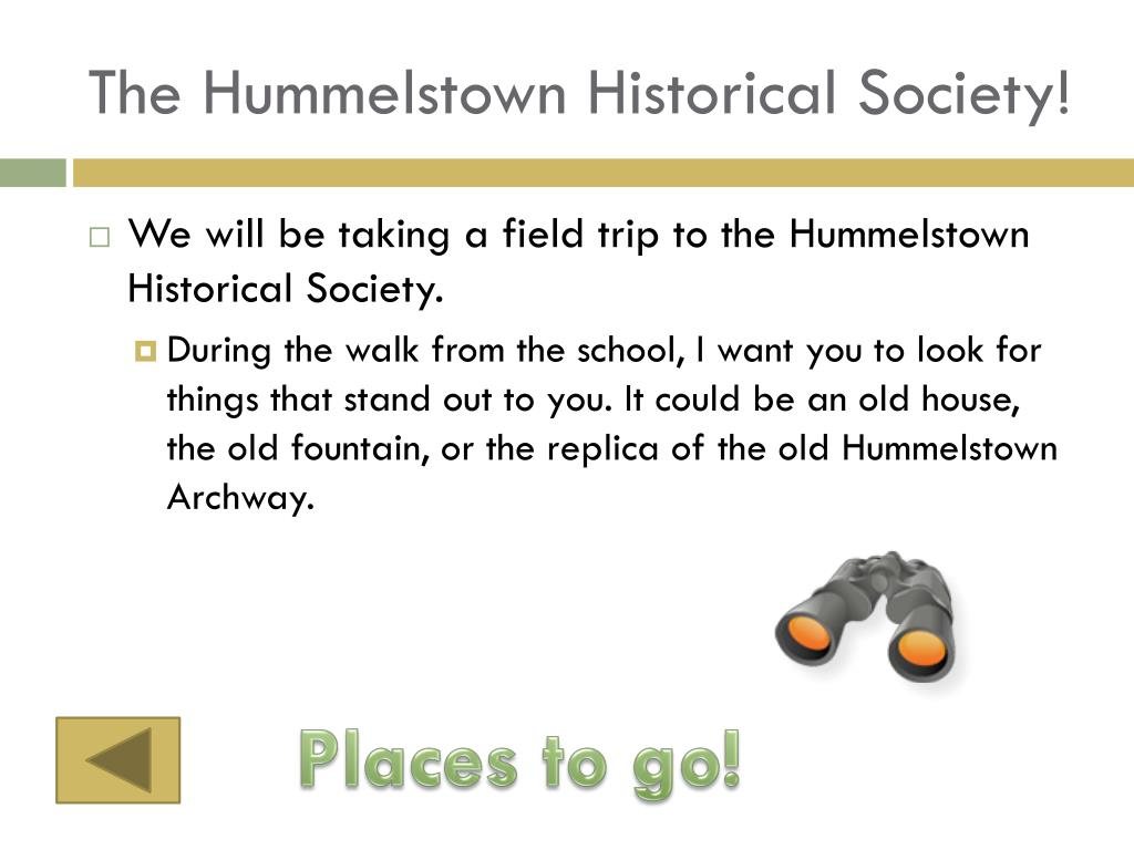 The Hummelstown Historical Society!