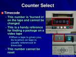 counter select1