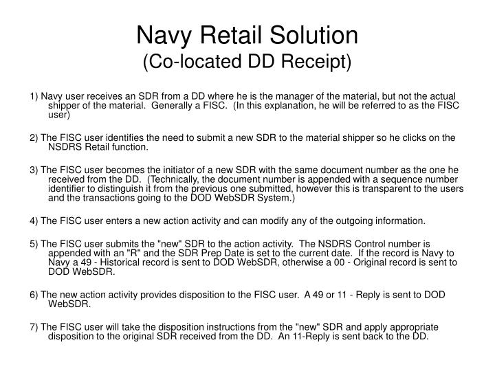 navy retail solution co located dd receipt n.