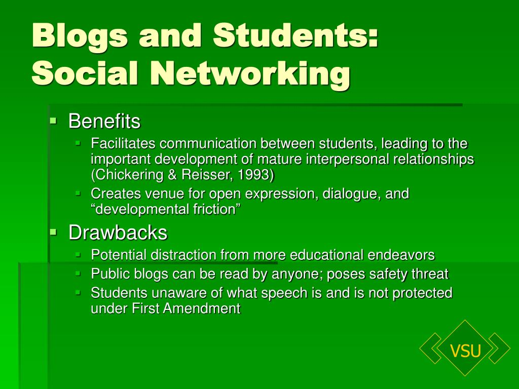 Blogs and Students: