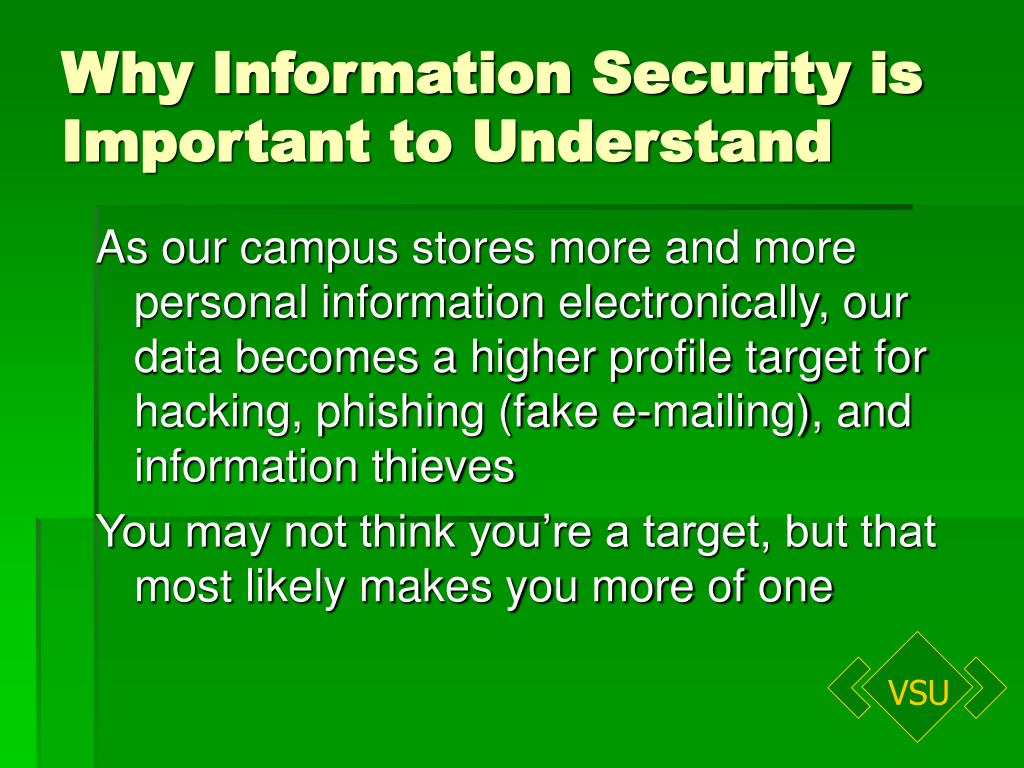 Why Information Security is Important to Understand