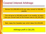 covered interest arbitrage13