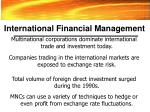 international financial management27