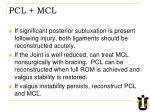 pcl mcl