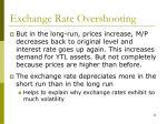 exchange rate overshooting35