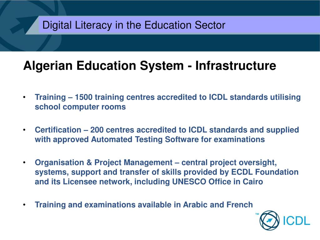 Algerian Education System - Infrastructure