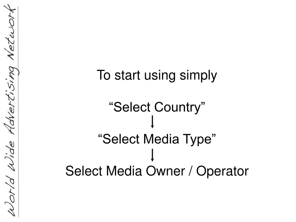 To start using simply