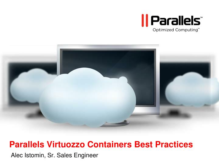 parallels virtuozzo containers best practices n.