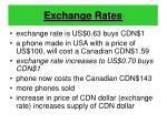exchange rates17