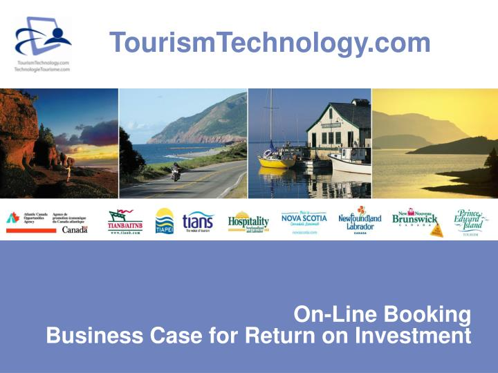 on line booking business case for return on investment n.