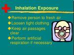 inhalation exposure3