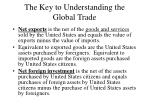 the key to understanding the global trade7