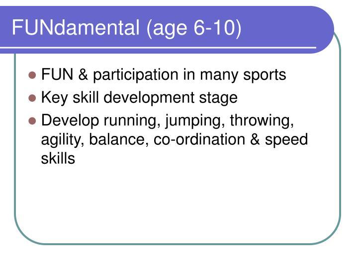 FUNdamental (age 6-10)