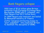 bank negara collapse