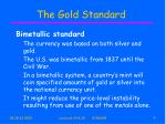the gold standard9