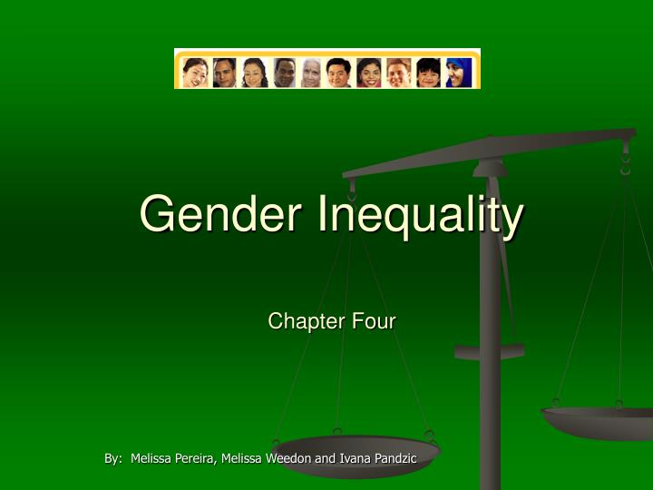 gender inequality chapter four n.