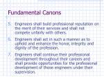 fundamental canons1