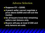 adverse selection11