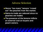 adverse selection12