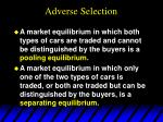 adverse selection15