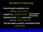 incentives contracting66