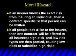 moral hazard57