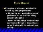 moral hazard58
