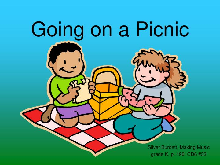 going on a picnic n.