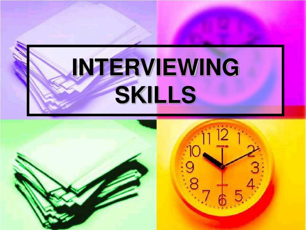 interviewing skills l.
