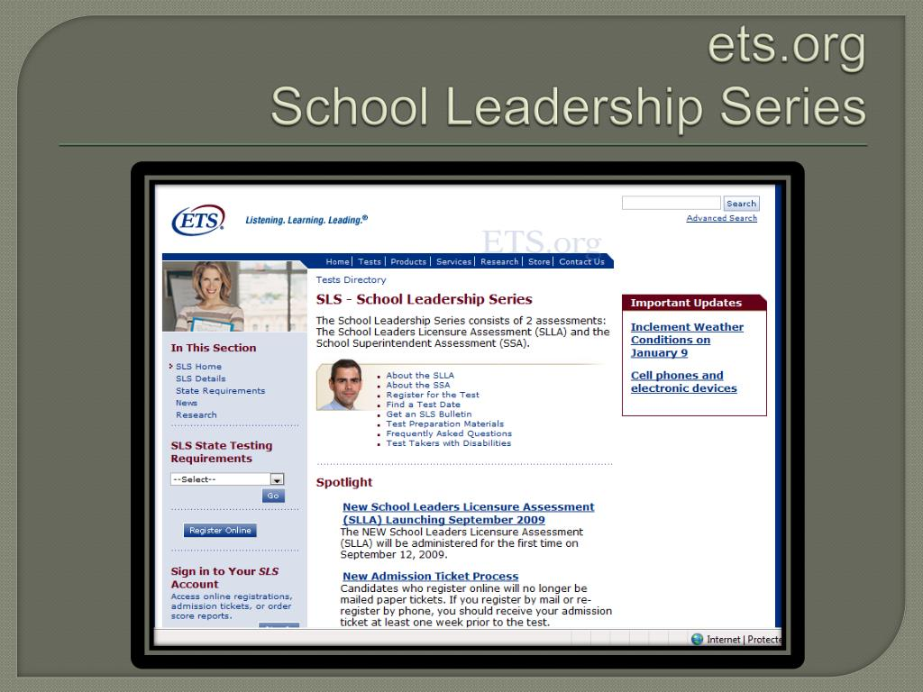 PPT - How to Pass the School Leaders Licensure Assessment