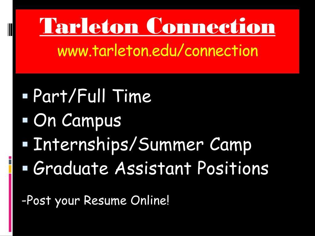 Tarleton Connection