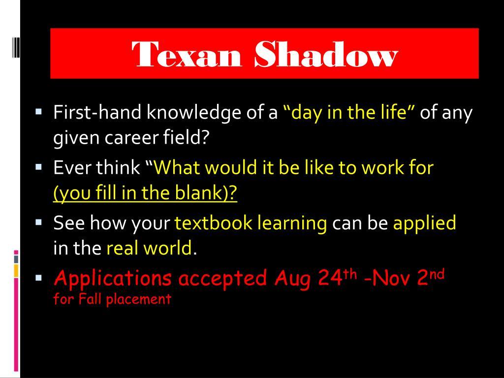 Texan Shadow