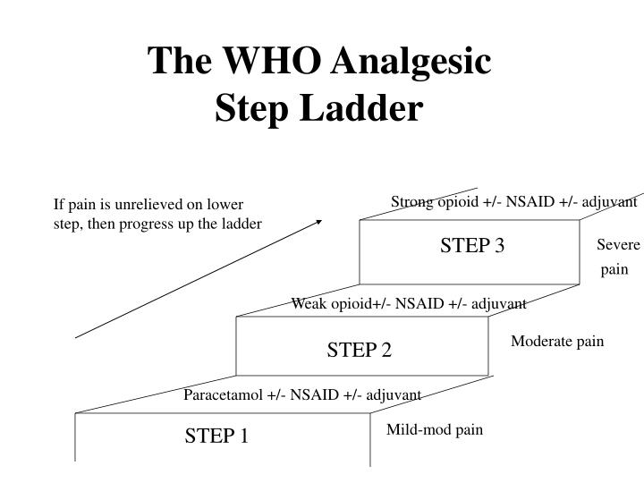 The WHO Analgesic Step Ladder