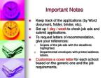 important notes6