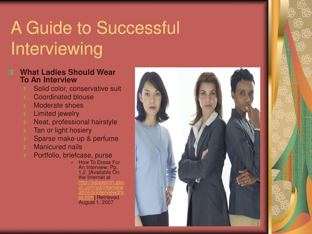 What Ladies Should Wear To An Interview