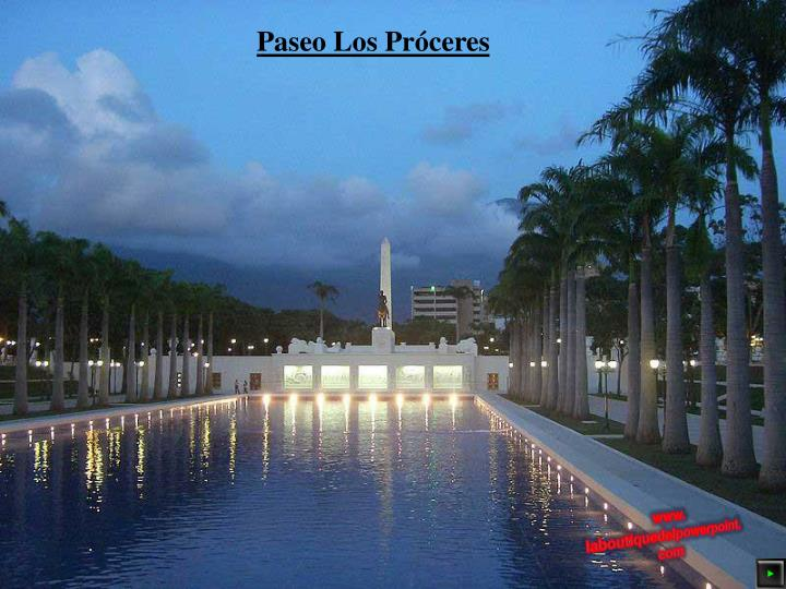 Paseo Los Próceres