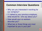 common interview questions25