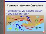 common interview questions26