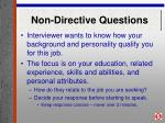 non directive questions14