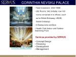 corinthia nevskij palace