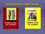 educacion por competencias