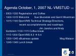 agenda october 1 2007 nl vmstud 1 4