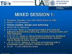 mixed session 1
