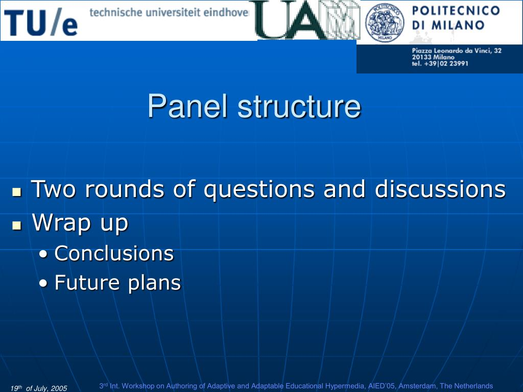 Panel structure