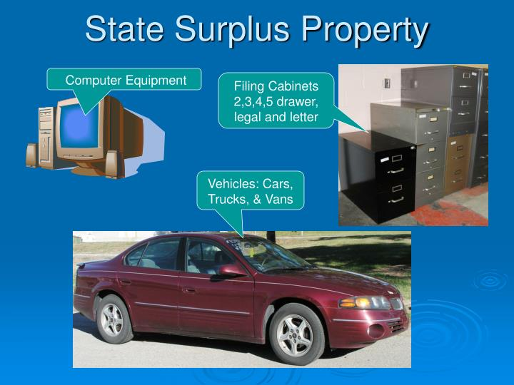 State Surplus Property