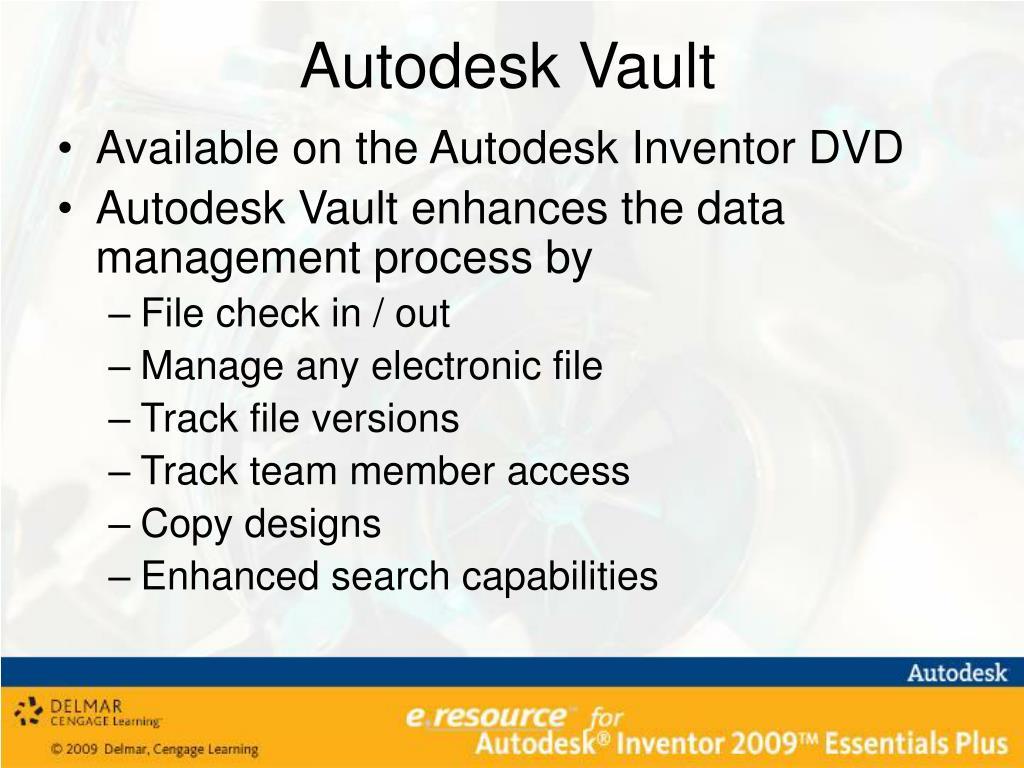 PPT - Autodesk Inventor 2009 Essentials Plus Instructor's