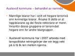 austevoll kommune behandlet av nemnda